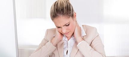 Dolor de cuello o cervicales
