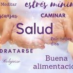 salud con manos
